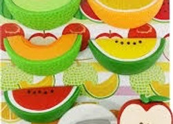 Iwako Eraser Set: Cut Fruit
