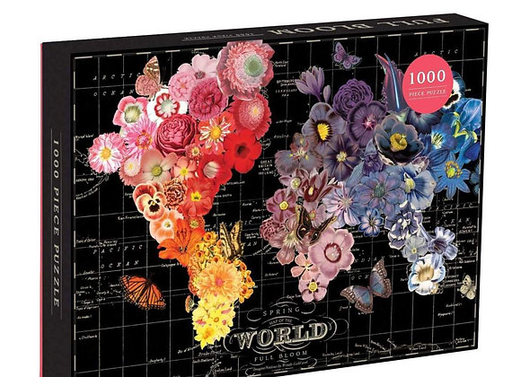World in Bloom 1000 Piece Puzzle