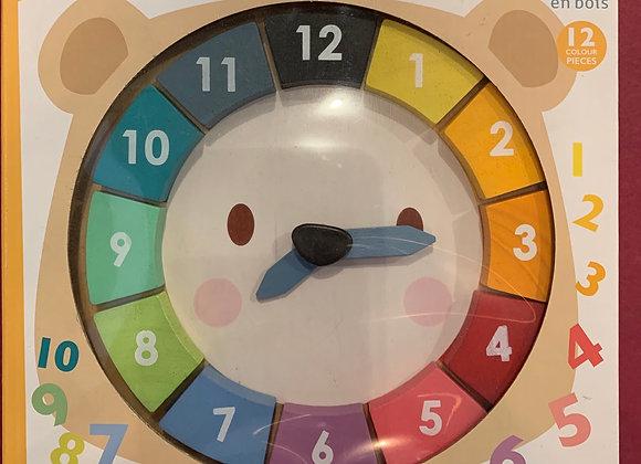Bear Color Clock