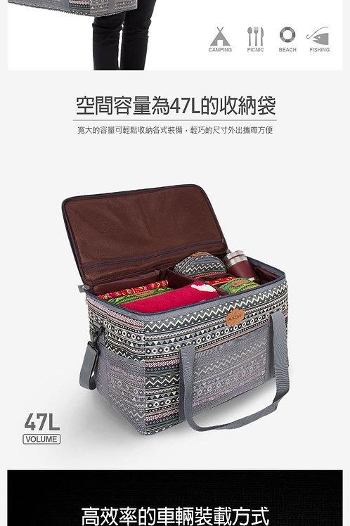KAZMI彩繪民族風裝備收納袋47L