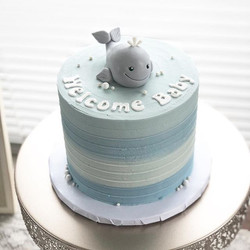 🐳 This cute little cake was for a sweet