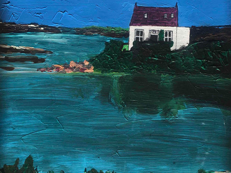 A painting inspired by Sherkin Island