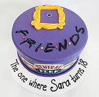 custom cake Friends door frame.jpg