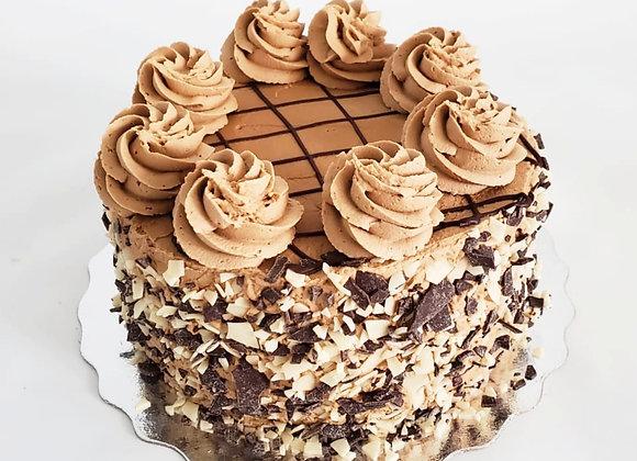 "Mocha Artisanal Cake 6"""