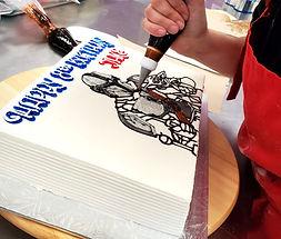 CBR cake decorator position