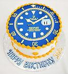 custom cake corporate rolex