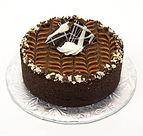 Artisanal  chocolate fudge cheescake