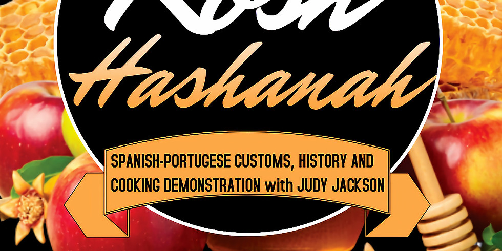 Sephardi Cooking Demonstration and Conversation with Judy Jackson