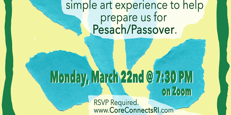 Pre-Passover Art Experience with Nancy Katz