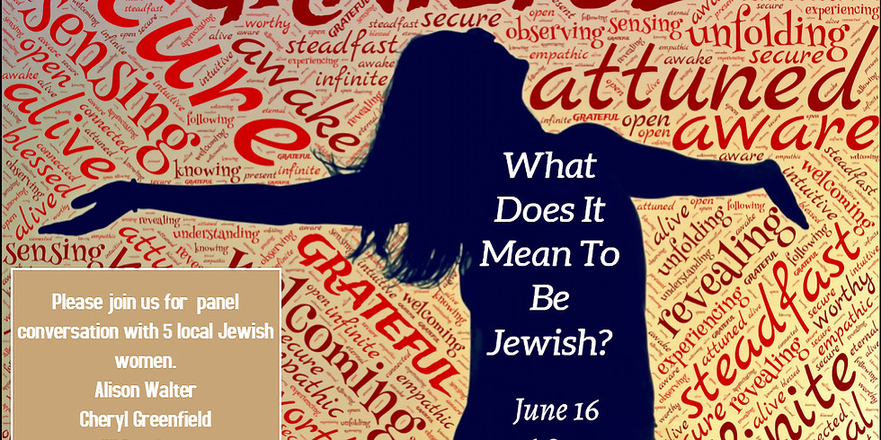 """""""Evening of Jewish Life Experienced and Lived."""""""