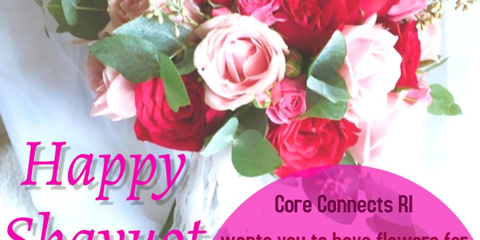 Pre Shavuot Flowers