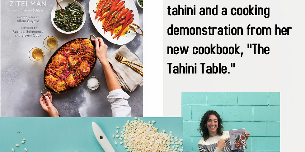 """Amy Zitelman, CEO and Co-Founder of Soom Foods shares a special recipe from her new book,""""The Tahini Table."""""""