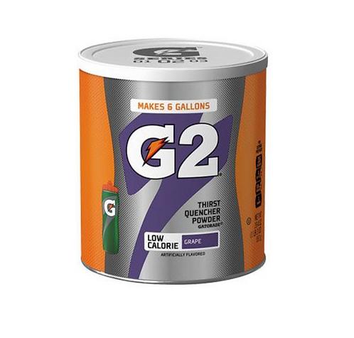 Gatorade Thirst Quencher Powder - G2 Grape - Makes 22.7 Litres