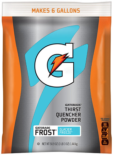 Gatorade Thirst Quencher Powder - Glacier Freeze - 1.44KG - 22.7 Litres