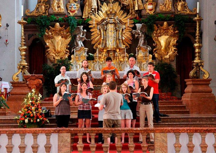 Nottingham Cathedral Choir Munich tour 2011 1