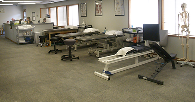 Epic Physical Therapy Training Room