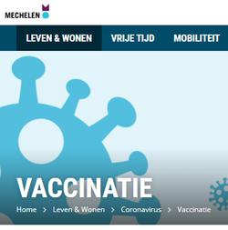 Vaccinatie Mechelen