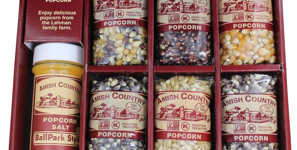 Popcorn Amish set 6 Pack