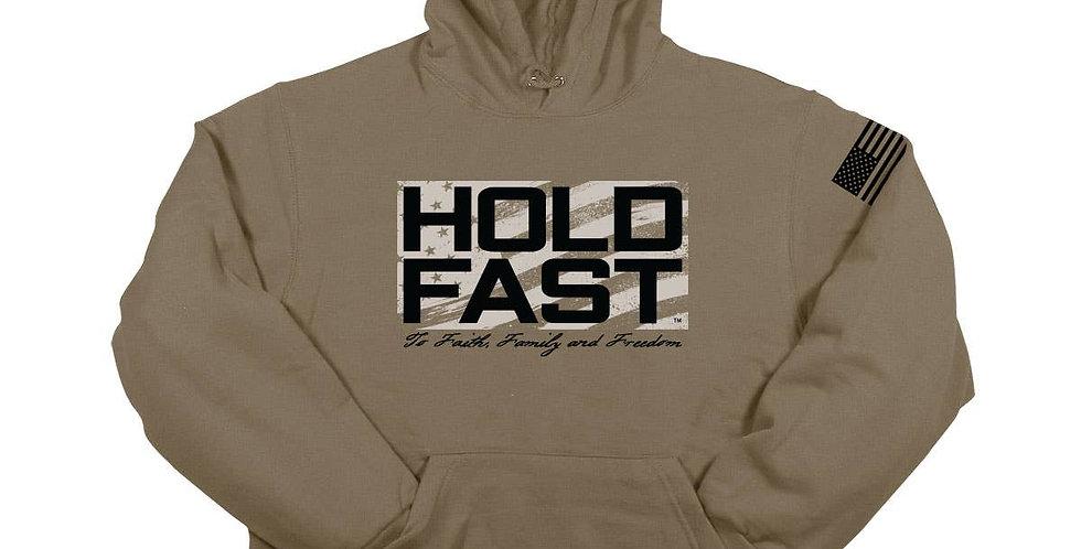 Hold Fast Mens Hoodie Sweatershirt