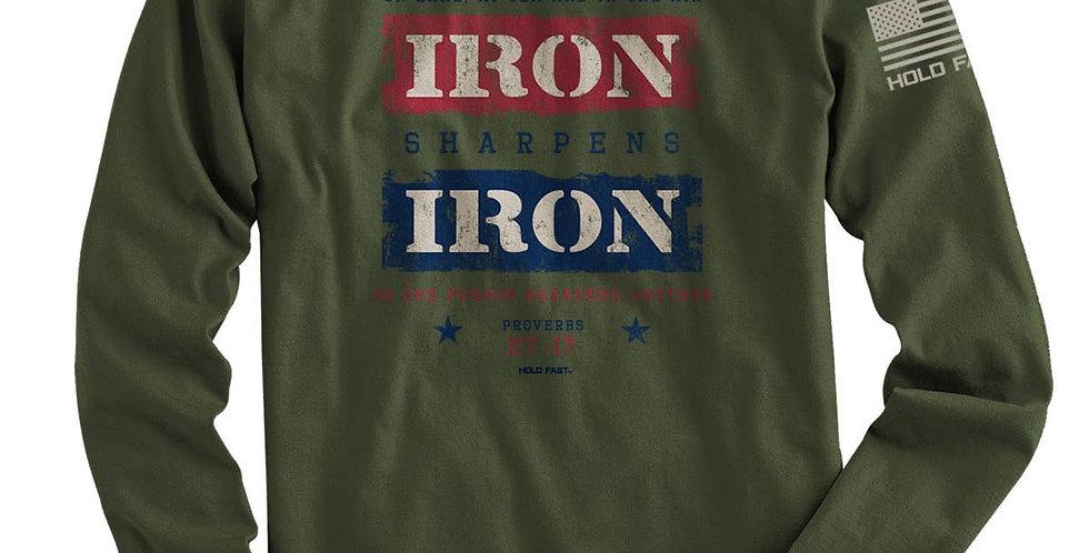 Iron Mens Long Sleeve T-Shirt