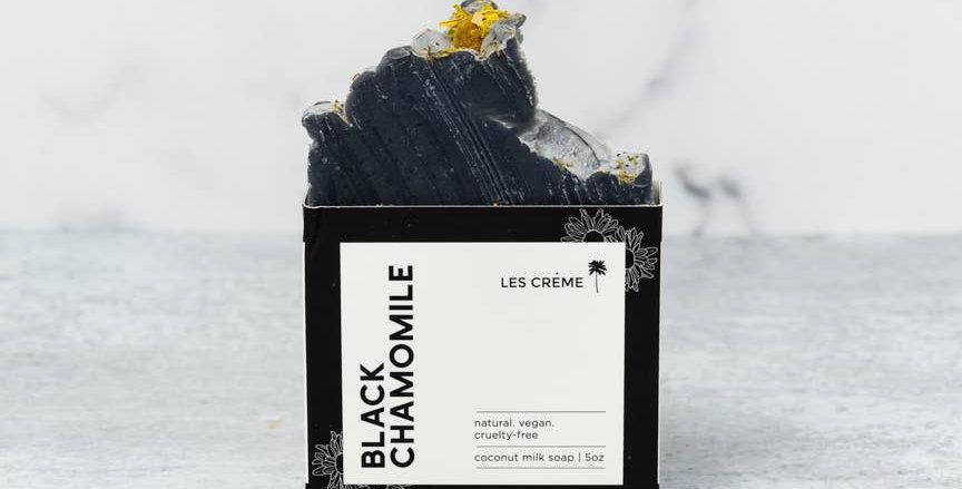 Black Chamomile Coconut Milk Soap