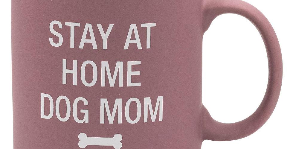 Stay at Home Dog Mom Stoneware Mug