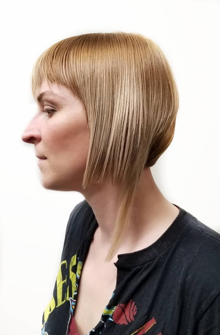 Short Hair with Disconnection