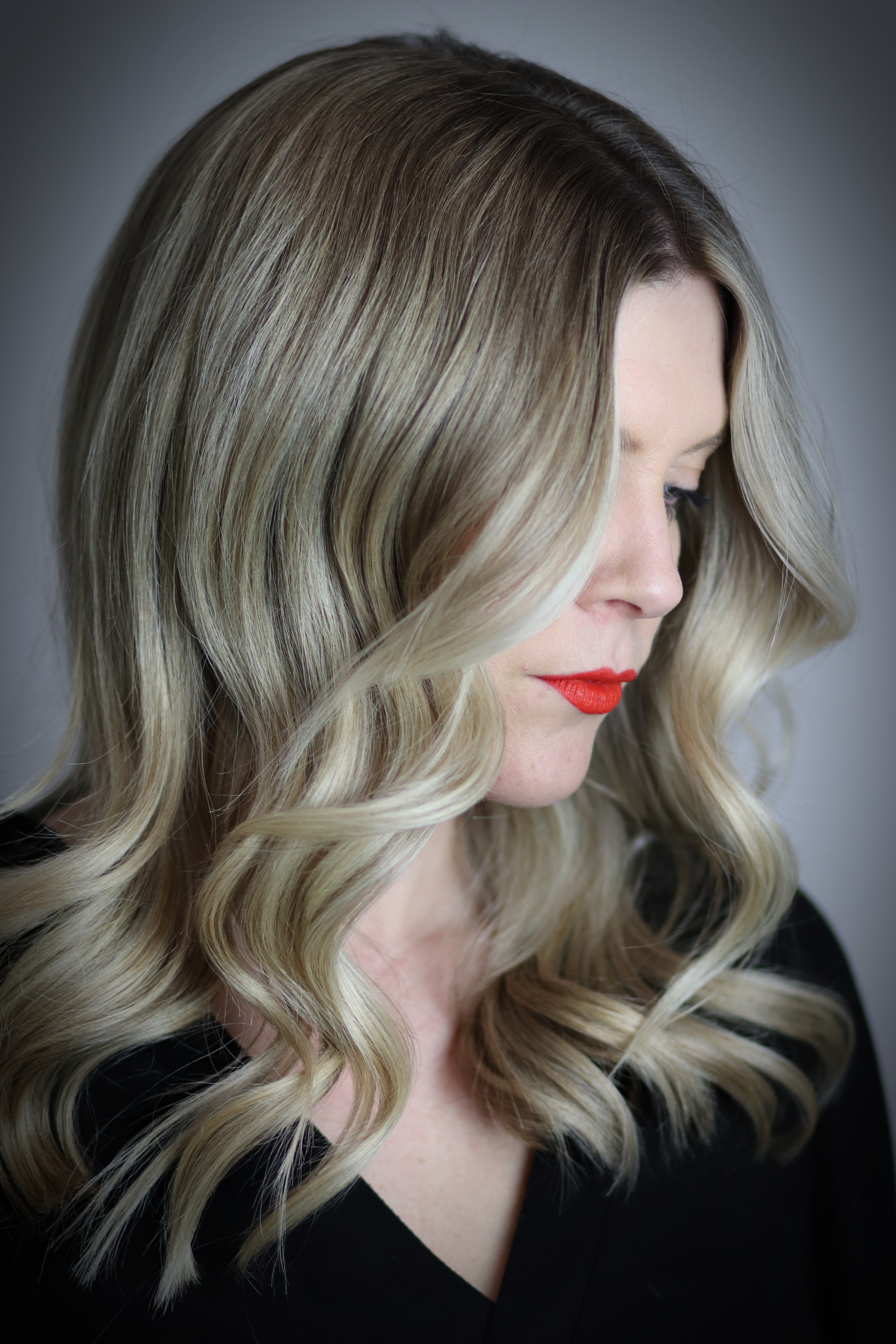 Soft Blonde Balayage with Dimension