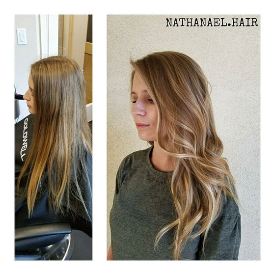 Natural Look Balayage