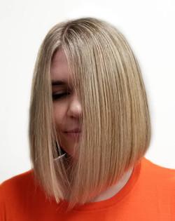 Mid Length Bob Haircut