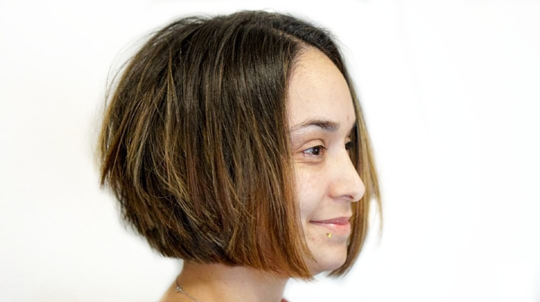 Graduated Bob Haircut with Layers