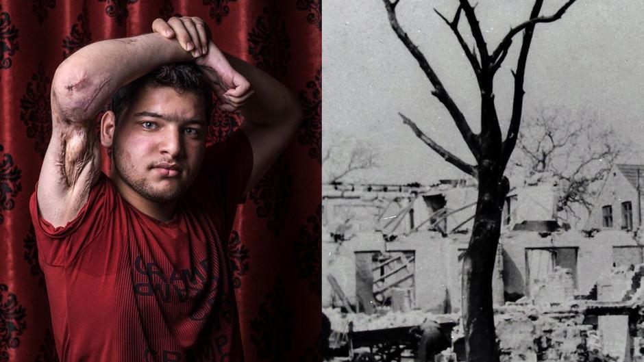 Fotoudstilling sammenligner bombning af Bornholm med dagens flygtningepolitik