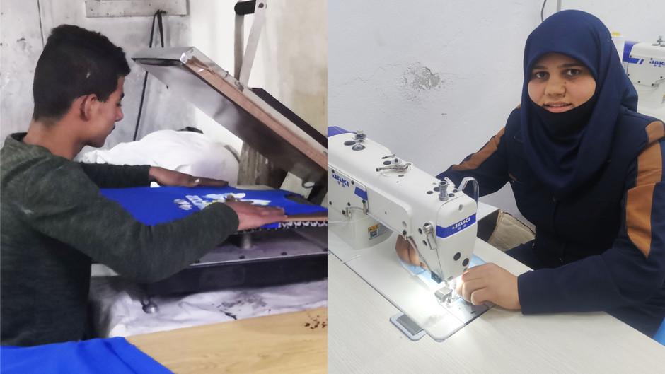 Iværksætteri giver håb til unge i Syrien