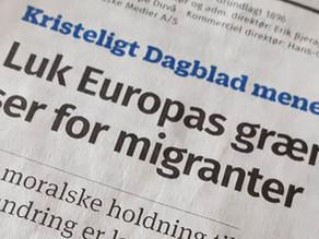 Problematisk avisleder om flygtninge og migranter