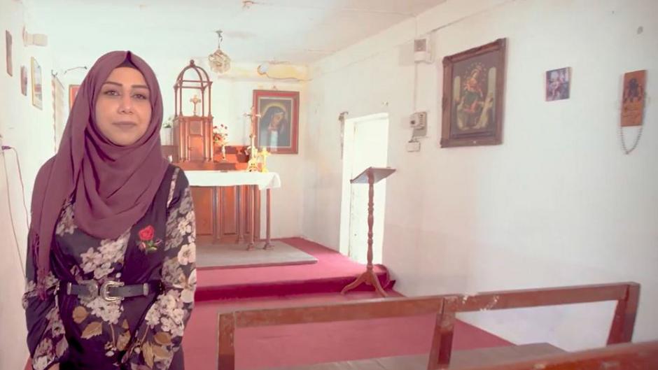 Muslimsk kvinde satte gang i kirkebyggeri for kristne