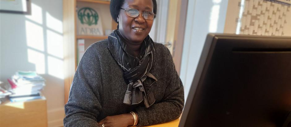 Sydsudaneser er på hjemmebane, når hun skaber udvikling i Afrika