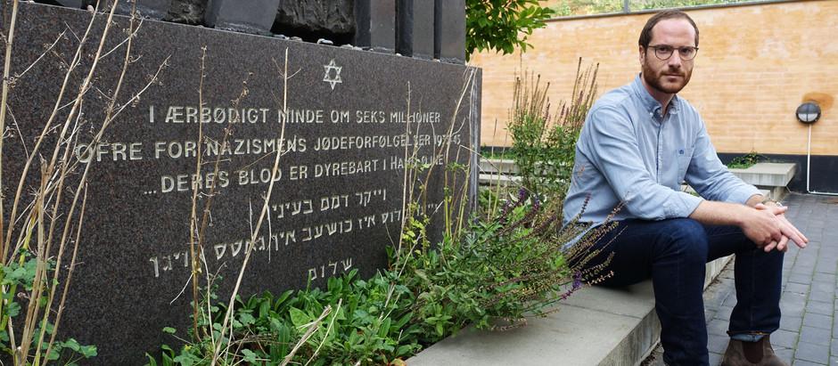 Jøder besvarer hærværk og terror med åbenhed
