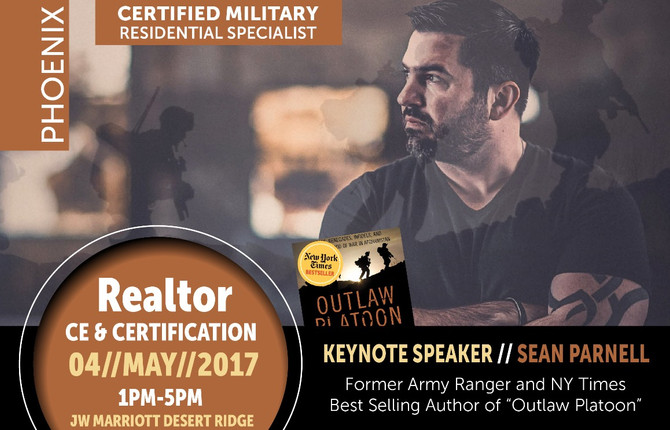 Arizona Veteran to be honored at Event Certifying 400 Real Estate Agents as Military Residential Spe