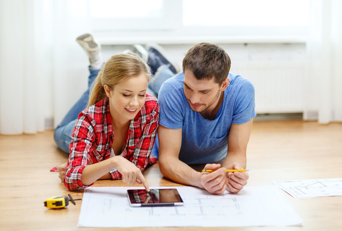 Purchase and remodel a home using one loan through a renovation mortgage.