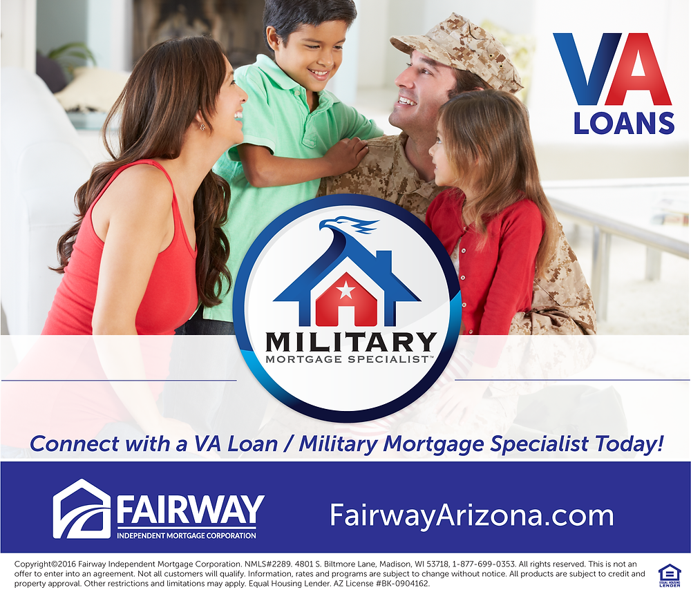 VA Loans | VA Loan Rates | Fairway Mortgage Arizona