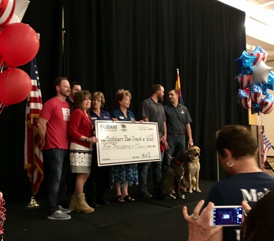 Phoenix Veteran Honored | Fairway Mortgage Arizona | VA Loans Arizona