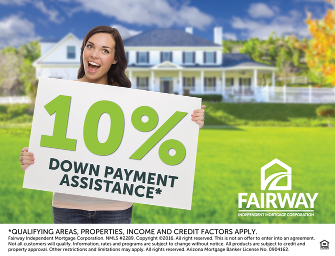 New 10% Arizona Down Payment Assistance Program Available