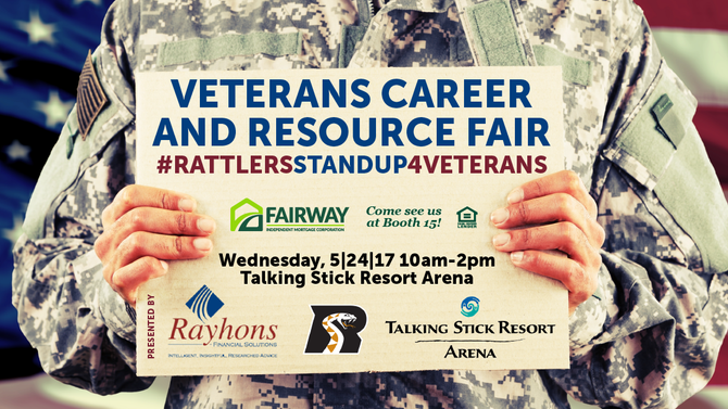Arizona Veterans Career and Resource Fair coming to Talking Stick Resort Arena May 24th