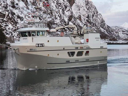 """M/S """"Ingvardson"""", over 15 meter for salg"""