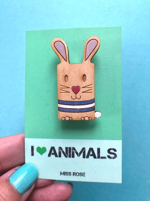 Roxy the Rabbit Badge