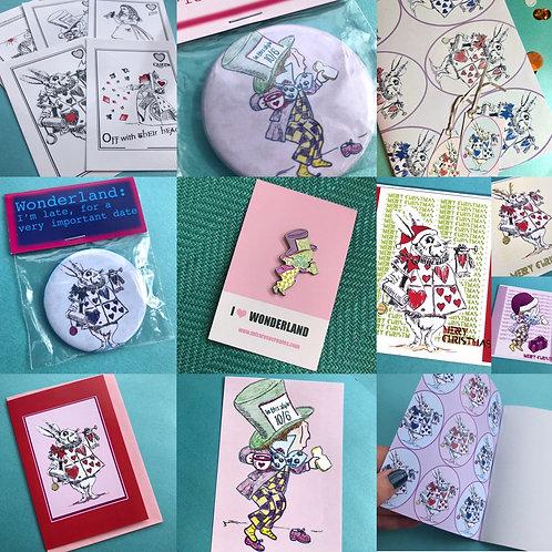 Wonderland Maxi Mystery Bundle Box (£29+ worth)
