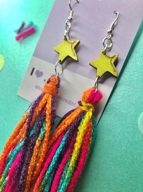 Shooting stars (multicoloured)