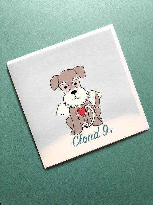 Dog Condolence Card