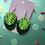 Thumbnail: Laser cut monstera leaves earrings