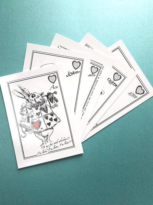 Wonderland Postcards (Pack of 5)